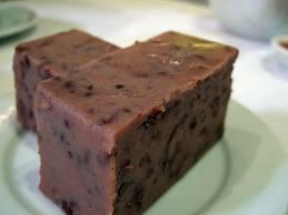 red bean cake